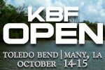 KBF OPEN, Toledo Bend Oct 14-15