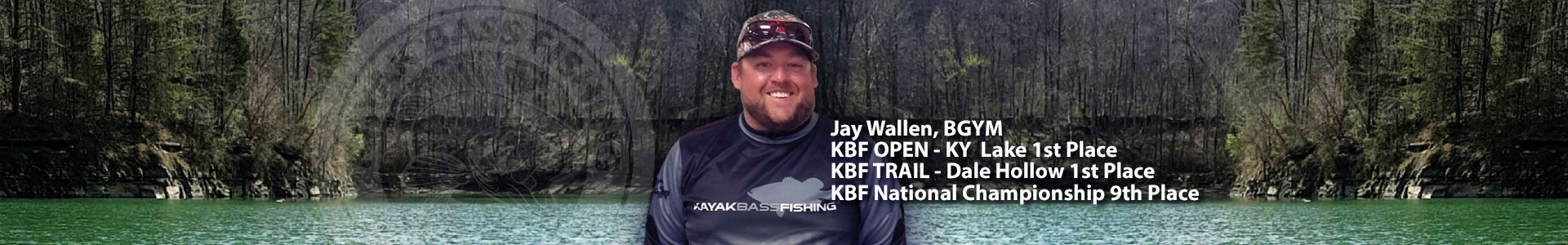 Jay Wallen, 2016 KBF Angler of the Year