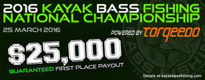 Kayak Bass Fishing National Championship