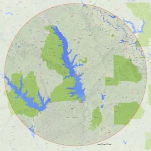 Fall 2015 KBF OPEN eligible waters map