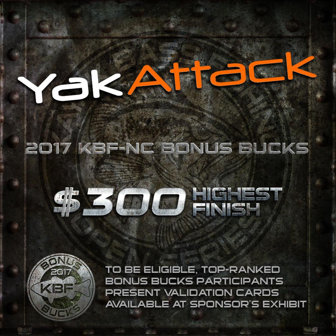 YakAttack KBF BONUS BUCKS - KBF National Championship