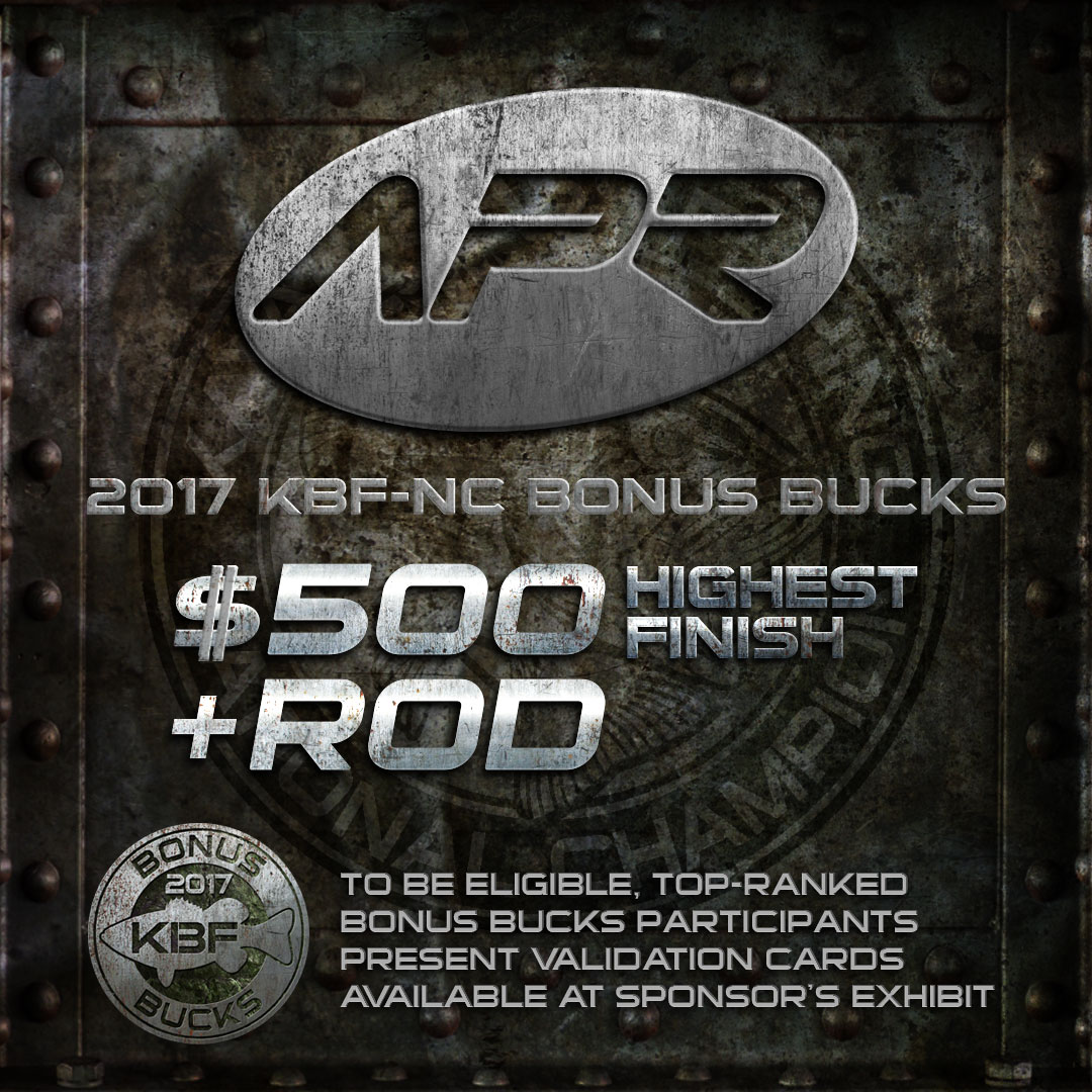 All Pro Rods KBF BONUS BUCKS - 2017 National Championship