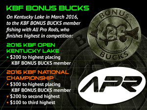 All Pro Rods BONUS BUCKS