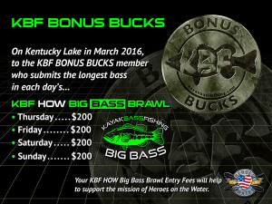 KBF HOW BIg Bass Brawl KBF BONUS BUCKS