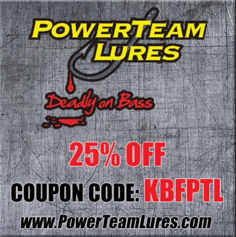 PowerTeam Lures KBF Member Discount