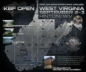 KBF OPEN West Virginia Poster