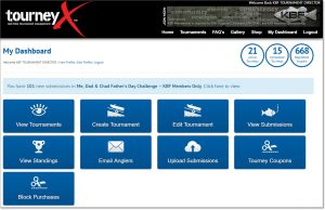 TourneyX Administrative Dashboard