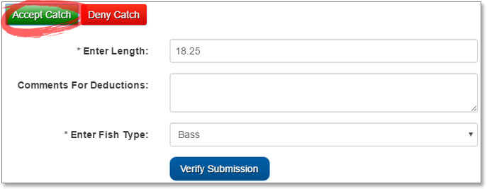Verify Submission on TourneyX