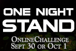 One Night Stand Challenge September 2016