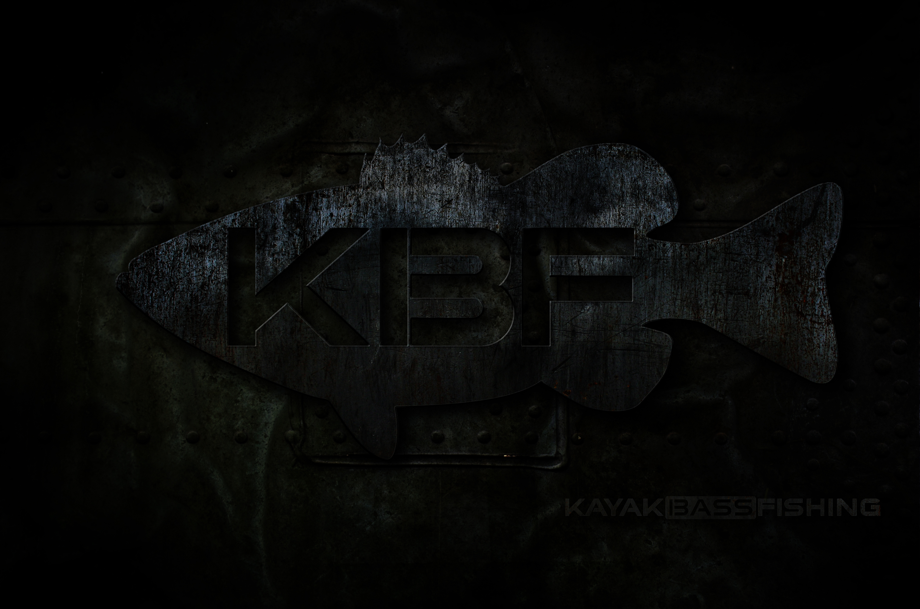 Kayak Bass Fishing large wallpaper
