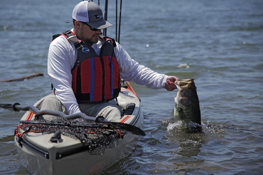 Kayak bass fishing kbf for Bass fishing kayak