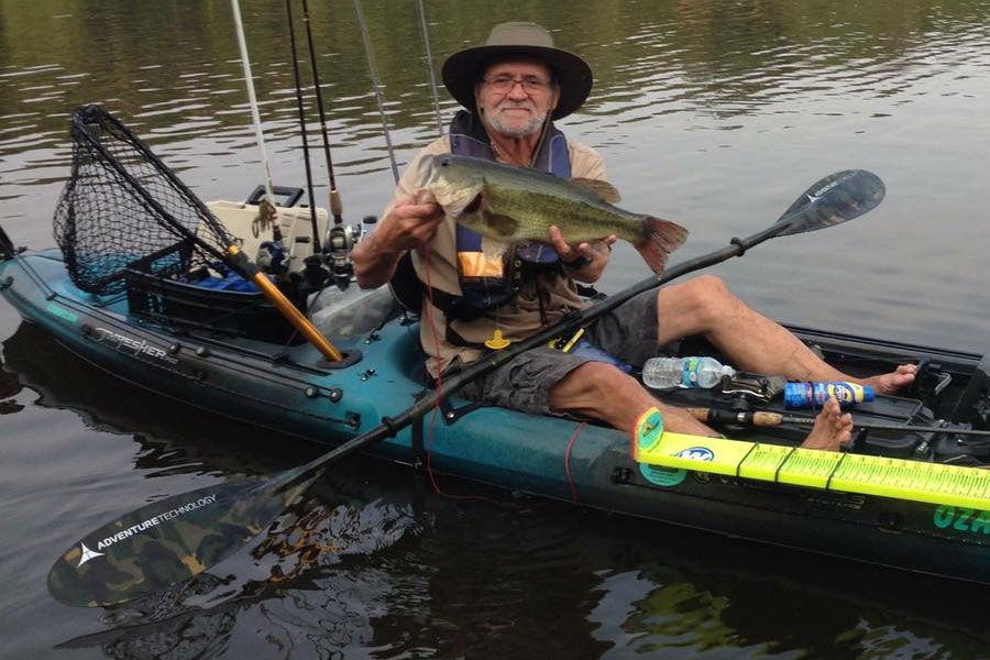 kayak bass fishing kbf