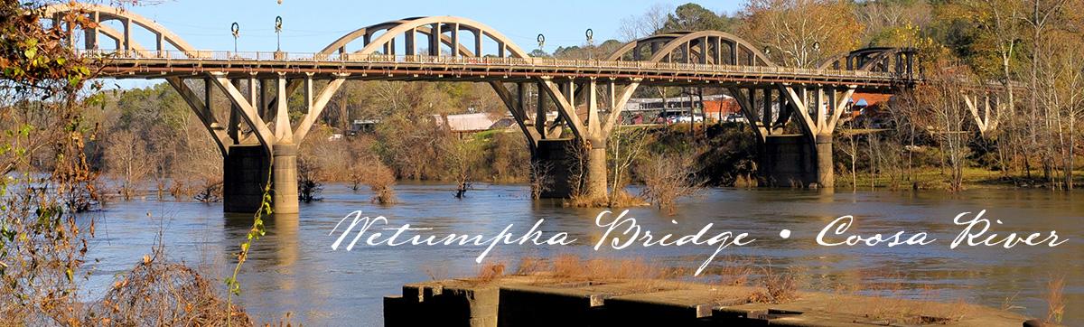 Wetumpka River, Coosa River, Alabama