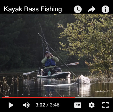 KayakBassinTV with Chad Hoover on YouTube