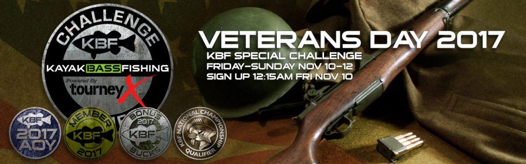Veterans Day 2017 KBF Special Challenge