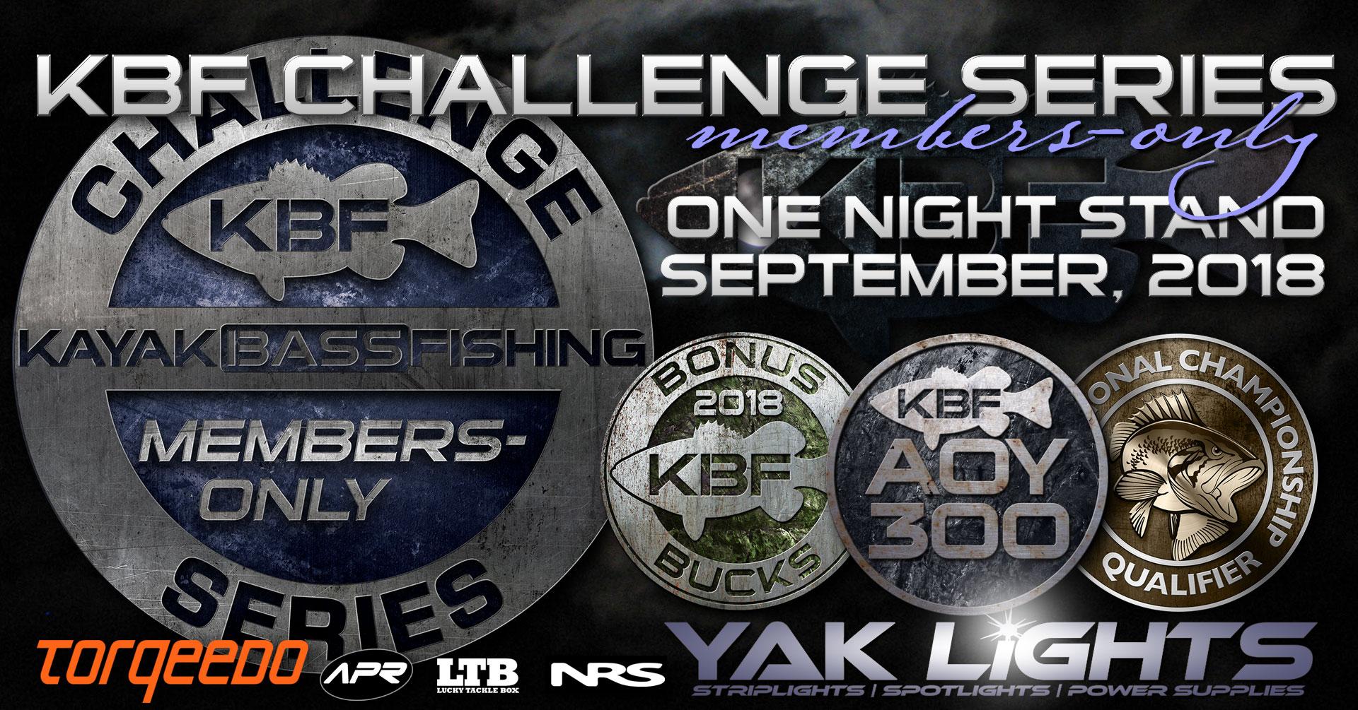 September 2018 KBF One Night Stand