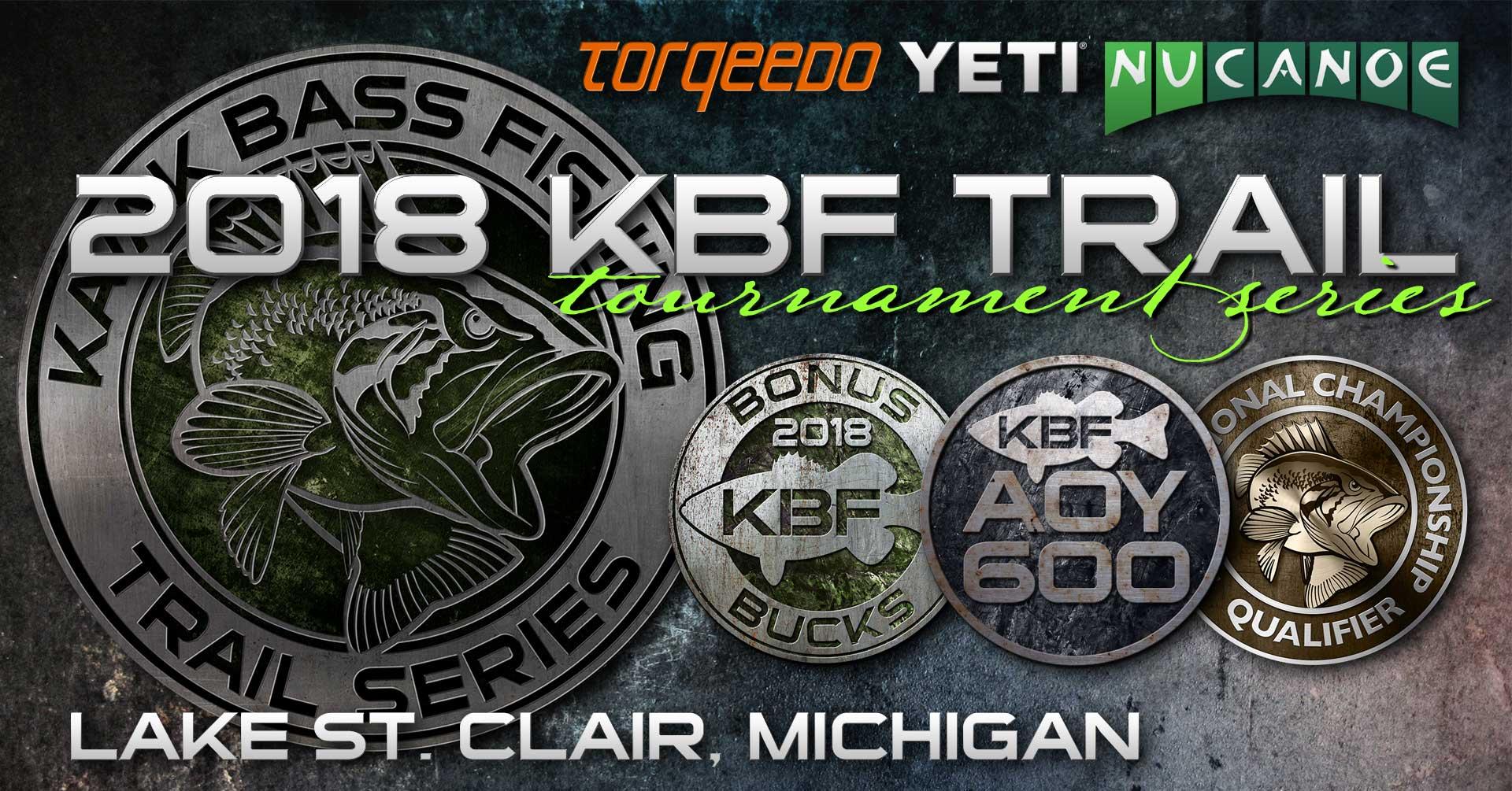 KBF TRAIL Series Tournament on Lake St Clair