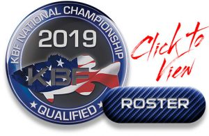 KBF Members Qualified for the 2019 KBF National Championship