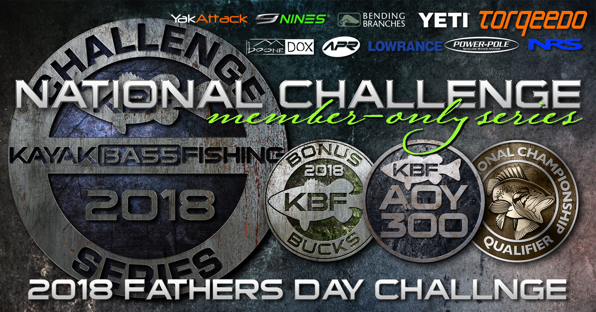 2018 KBF Fathers Day Challenge