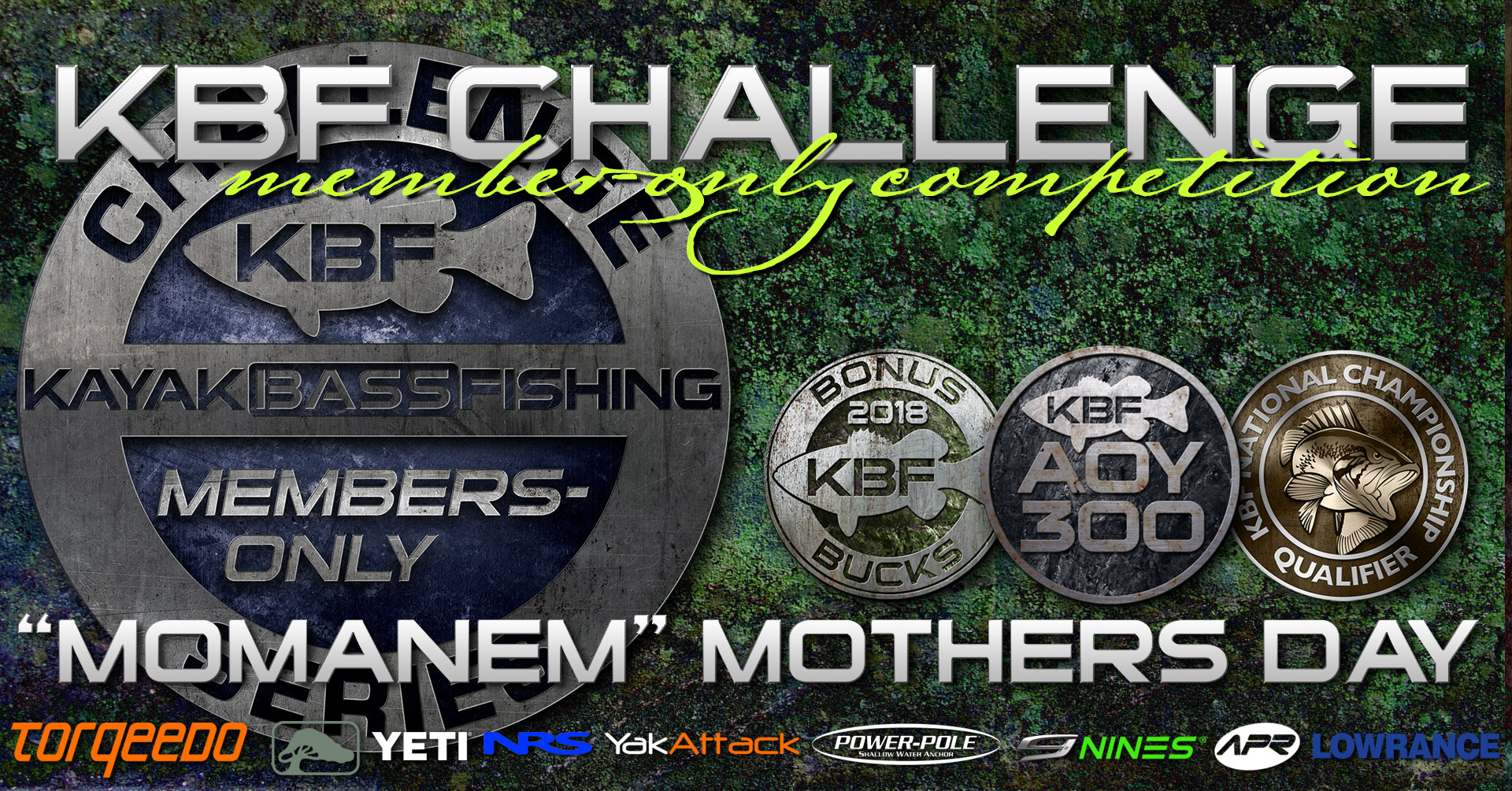2018 Mothers Day KBF Challenge