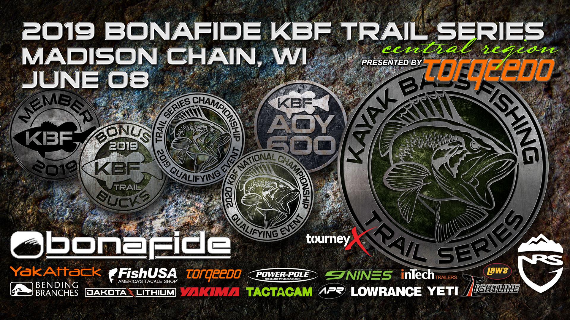 Bonafide KBF TRAIL Series Tournament - Madison Chain, WI