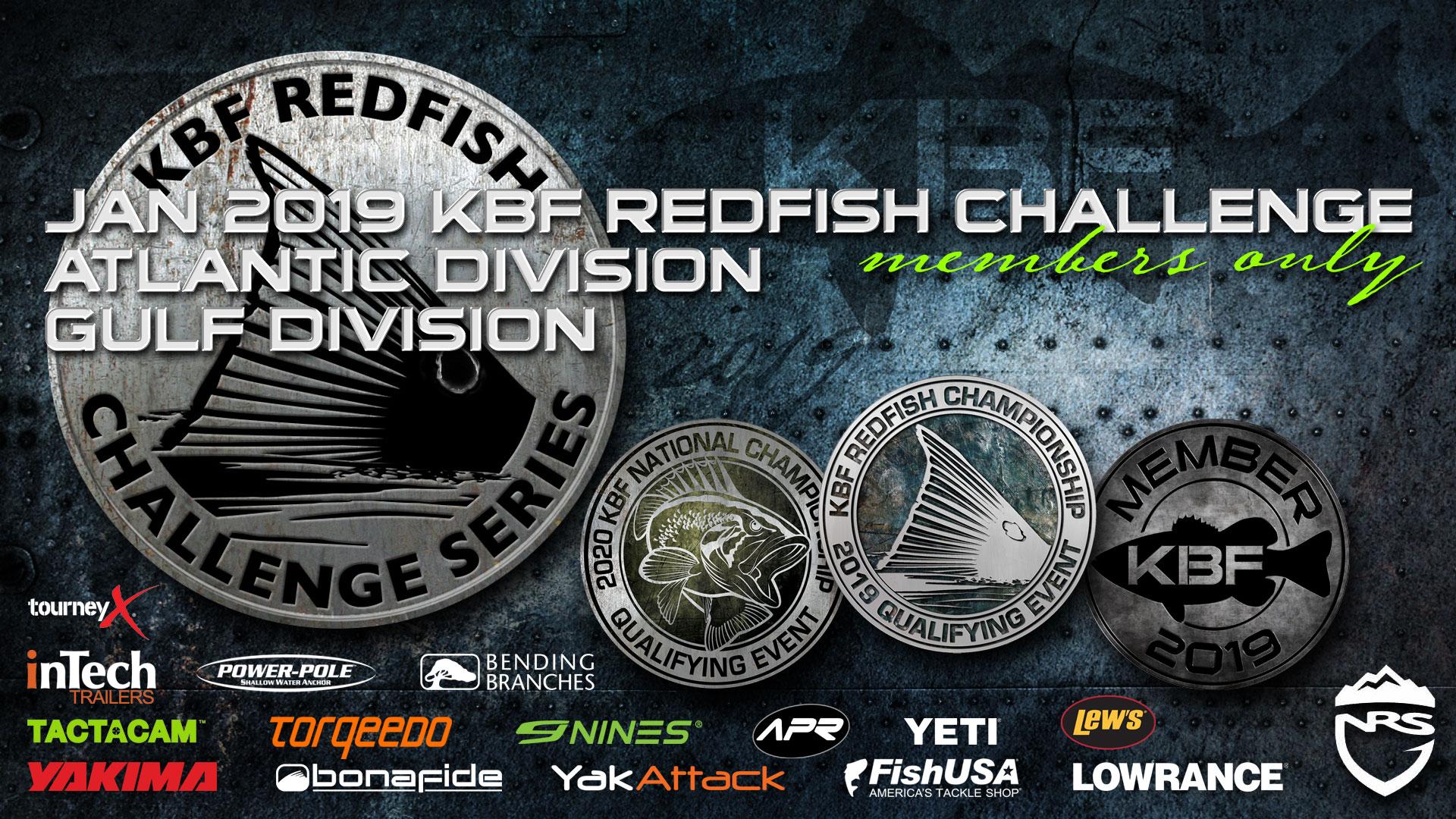 Jan 2019 KBF Redfish Challenge