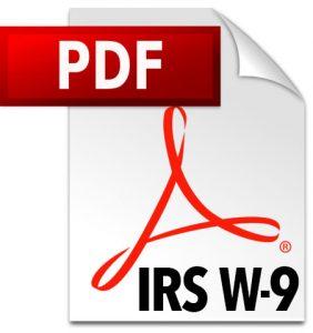 W-9 PDF on IRS.gov Website