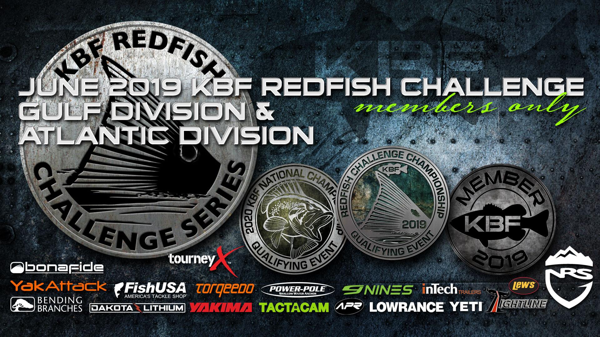 June 2019 KBF Redfish Challenge