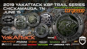 YakAttack KBF TRAIL on Lake Chickamauga