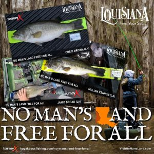 No Man's Land Free For All Bass Tournament
