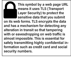 Secure Web Page