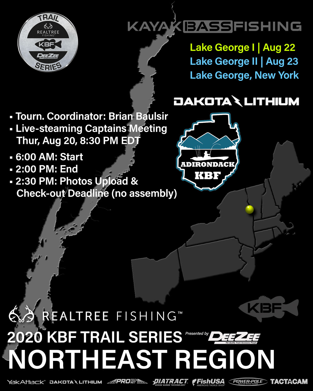 2020 KBF TRAIL Lake George NY