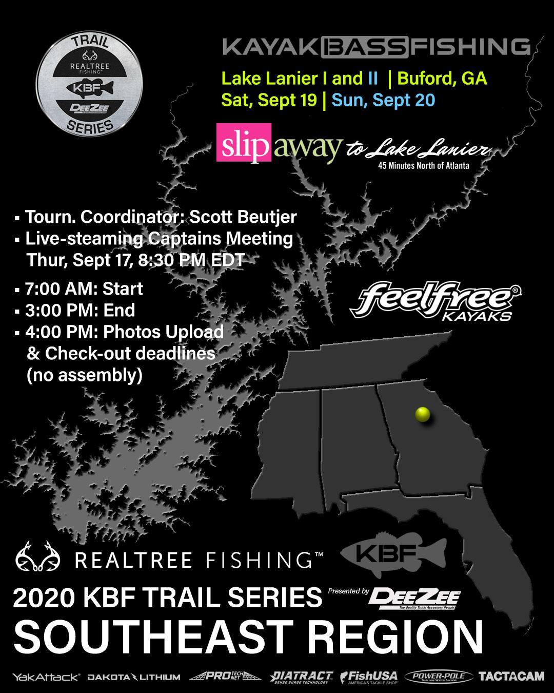 Lake Lanier KBF TRAIL Series Tournament
