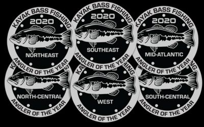 Celebrating the 2020 KBF Regional Anglers of the Year